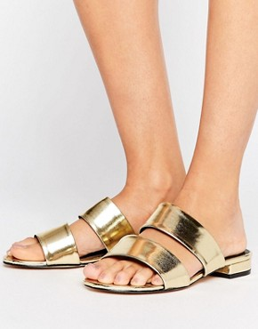 ASOS Metallic Sandal