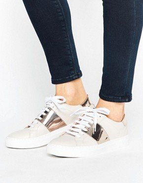 AsosOasisMetallicStrapSneaker